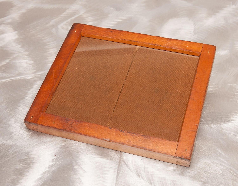 Madera contacto de 1890 Vintage impresión marco - E HT Anthony Co ...