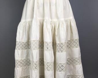 Victorian edwardian petticoat skirt