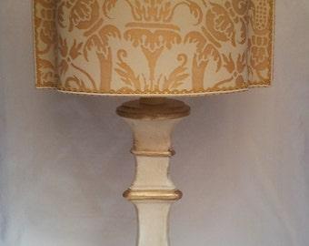 Authentic Italian Murano Alexandrite Hand Blown Glass Table