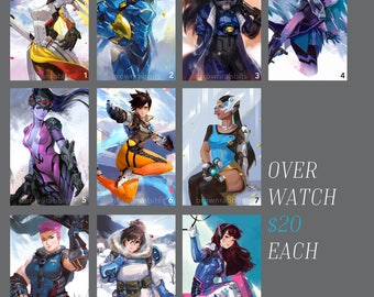 Poster: Overwatch Female