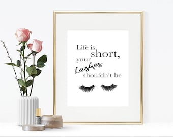 Life is short, your lashes shouldn't be