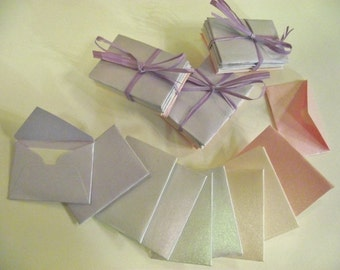 tiny fairy envelopes with insert