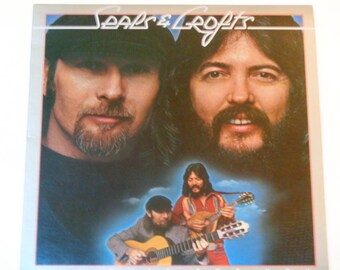 """Seals & Croft - I'll Play for You - """"Castles in the Sand"""" - Soft Rock - Warner Brothers Records 1975 - Vintage Vinyl LP Record Album"""