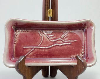Dancing Horse tray, serving tray