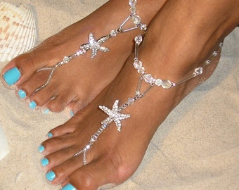 Barefoot Sandals Destination and Beach Wedding Shoes by HappiFeet