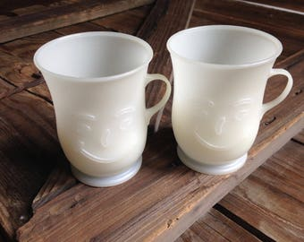 two Kool Aid mugs/retro plastic Kool Aid cups