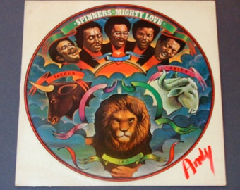 "Spinners - Mighty Love - R&B - ""I'm Coming Home""  ""Love Has Gone Away"" - Billy Henderson - Atlantic 1974 - Vintage Vinyl Lp Record Album"