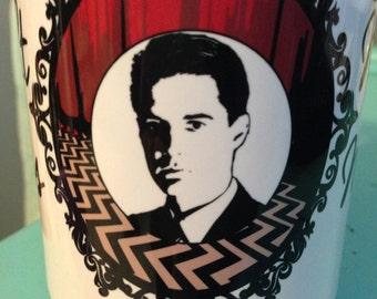 Twin Peaks Agent Cooper 15 oz. dishwasher and microwave safe Coffee Mug