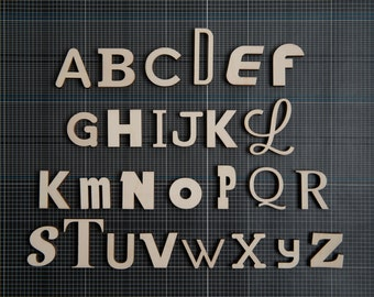 Alpha-bits Individual Letters
