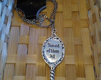 Fairest of them all Mirror Necklace