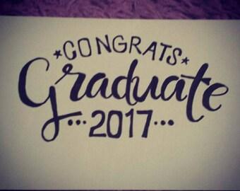 Congrats Graduate 2017 Card