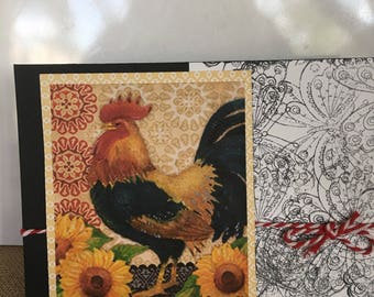 FRIEND Rooster 2 Greeting Card