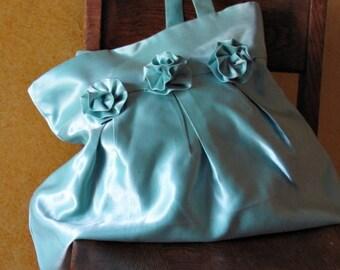 Aqua Blue Handbag