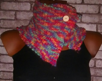 boho wool, scarf, neck, pop, hippie