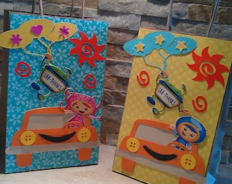 Umizoomi Goody Bags set of 12/ Favor Bags