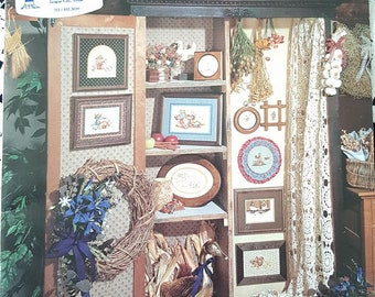 Cooper Country Cross Stitch designs from 1984 Stoney Creek Collection Book 2