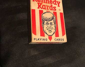 Kennedy Playing Cards 1960's