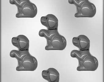 Begging Puppy Chocolate Candy Mold Dog Soap Plaster