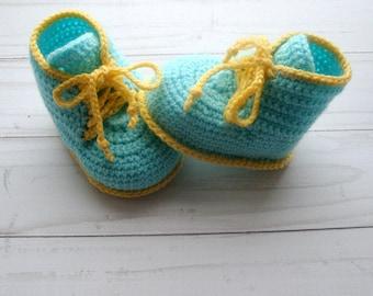 CROCHET PATTERN  -  Crochet Pattern  Baby Booties- Crochet Pattern Baby Shoes- Crochet Baby Booties