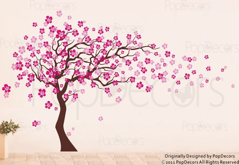 Baby Room Cherry Blossom Tree Decals