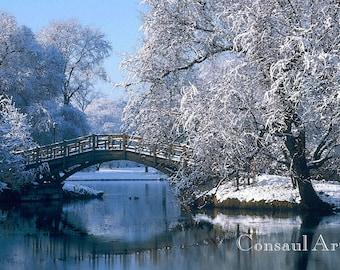 A Bridge in Winter