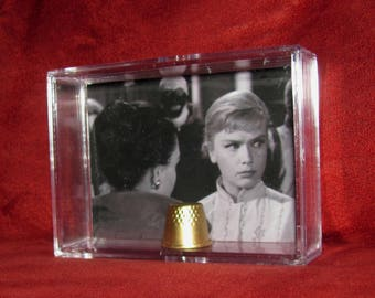 "The Twilight Zone ""The After Hours""Collectible Marsha Whites Thimble for Mother*Unique/Simple***Slender Case**"