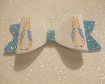 Peter Rabbit hair bow