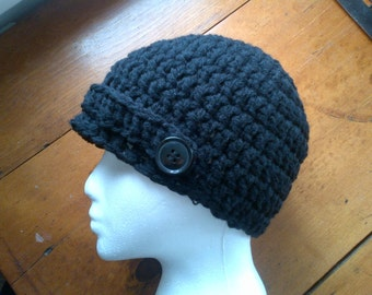 Crochet Pattern - Elena Gilbert's Hat (Inspired by The Vampire Diaries Season 4, Episode 13), Instant Download