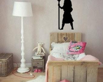Moana Wall Decal-Nursery Decal-Moana Decal-Girls Room-Child's Room-Moana Decor-Nursery Decor-Tween Decor-Pre-School