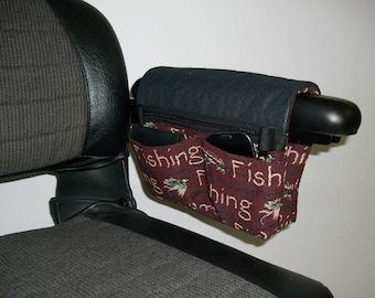 Smartie Pak, Jr. Power Chair Bag - Fishing