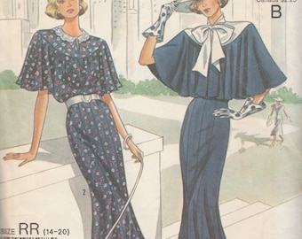 Simplicity 9360 Misses' 1920's Reproduction Dress