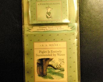 Winnie the Pooh Piglet Book Cassette set