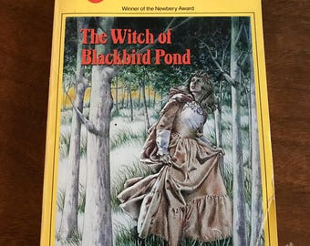 The Witch of Blackbird Pond by Elizabeth George Speare // Newbery Award Winner // 1987 Dell Yearling