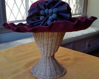 Elizabeth Marcel Fur Felt Hat
