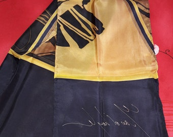 Silk scarf, silk scarf 100% silk scarf