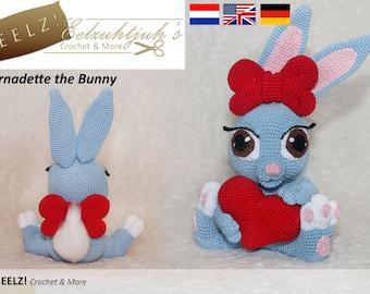 Bernadette the Bunny - Crochet Pattern