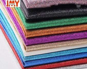 Iridescent Felt, Sparkly Be riotous with colour, Glitter Leather Fabric, PU leather, DIY, by the yard