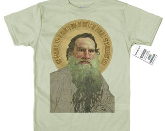 Leo Tolstoy T shirt Artwork