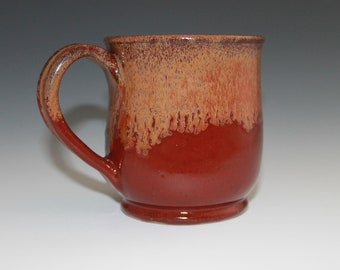 Stoneware Mug - Fiery Red - Ready to Ship