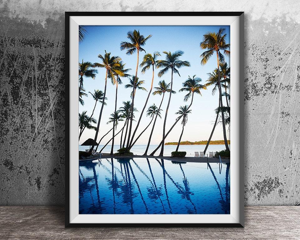 Imprimir Print Tropical océano impresión impresión de
