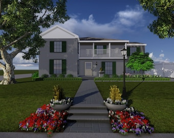 Southern Traditional Landscape Design