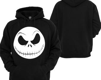 Nightmare Before Christmas Hoodie Jack Skellington Pullover Sweatshirt