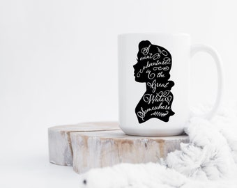 Belle Mug,I Want Adventure In The Great Wide Somewhere,Beauty and the Beast Mug,Belle Cup,Gift For Her,Birthday Gift For Her