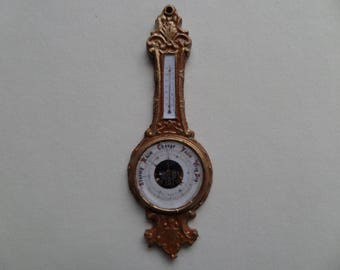 1:12th Wall Hanging Barometer Ornament for the Dolls House