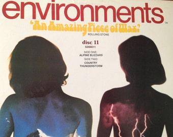 Environments - Disc 11 - VINYL RECORD
