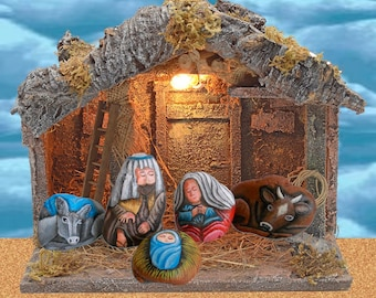 Birth of Bethlehem - Nativity - 5 rocks