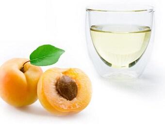 Apricot Kernel Oil 4oz pure natural prunus armeniaca