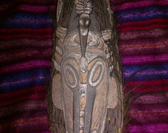 Mask- Papua New Guinea aboriginal art about 100 yrs old