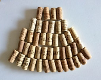 Italian Wine Corks, 50 Used all Natural Wine Corks, Craft Corks, Wedding Wine Corks, Wine Cork Supply, Wedding Decorations,Tappi di sughero