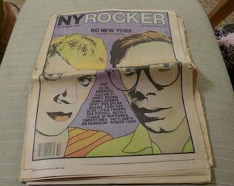 New York Rocker OCTOBER 1980 magazine DEVO no wave
